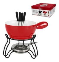 Conjunto fondue lausanne até 4 pessoas cjfn haüskraft - Hauskraft -