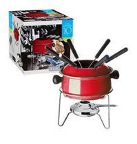 Conjunto fondue pequeno 10 peças - EUROHOME