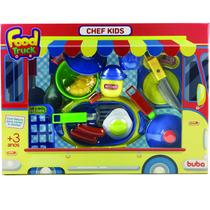 Conjunto Food Truck Chef Kids - Buba -