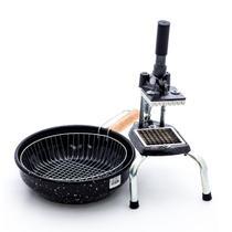 Conjunto fritadeira e picador de batata kit batata frita - Lares