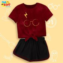 Conjunto Harry Potter Raio Tamanho 12 - Fun Kids