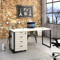 Conjunto Home Office com Mesa para Computador e Gaveteiro Volante Espresso Móveis -