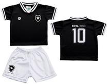 Conjunto Infantil Botafogo Uniforme Preto - Torcida Baby - Revedor