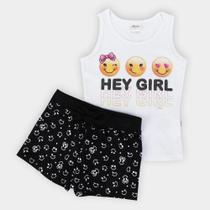 Conjunto Infantil Elian Hey Girl Feminino -
