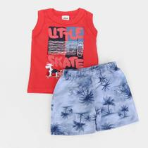 Conjunto Infantil Elian Little Skate Masculino -