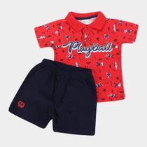 Conjunto Infantil Elian Playball Masculino -