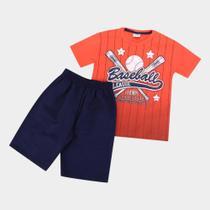 Conjunto Infantil Fakini Baseball Masculino -