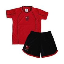 Conjunto Infantil Flamengo Micro Dry - Torcida Baby - Revedor