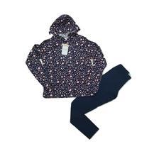 Conjunto Infantil Inverno Blusa Calça Capuz Malwee Coração A -