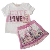 Conjunto Infantil Inverno Petit Cherie 18062 My Secret Diary -