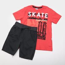 Conjunto Infantil Kiko  Kika Skate Masculina - Kiko kika