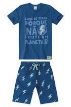 Conjunto Infantil Masculino Cuide Da Terra Malwee Kids -