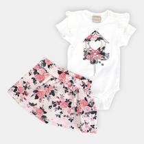 Conjunto Infantil Milon Floral Feminino -