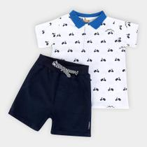 Conjunto Infantil Up Baby Polo Scooter Masculino -