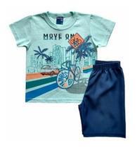 Conjunto Infantil Verão Masculino - Bicicleta - Wrk -