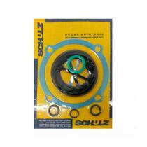 Conjunto Juntas Sortidas C/ 13 Pcs Para Vedacao Oleo Compressor Csa 10max - Schulz -