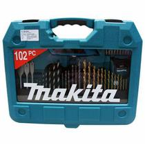 Conjunto Kit Broca Bits Soquetes 102 Peças Makita -