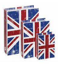 Conjunto Livro Caixa Organizadora Reino Unido - Mart
