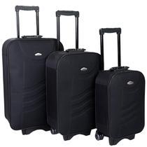 Conjunto Mala De Viagem Com 3 Peças (mala P Medida Anac) - Fox