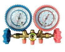 Conjunto Manifold para Refrigeração e Ar Condicionado R-12/R-22/R-134a/ R-404 Vulkan Lokring VCLT-636G -