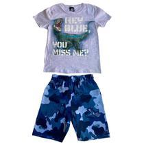 Conjunto Masculino Infantil Malwee Jurassic World - Malwee Kids