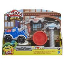 Conjunto Massa Play-Doh Wheels Reboque Hasbro E6690 -