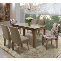 Conjunto Mesa C/ 6 Cadeiras - Siena - Dobuê - Dobue