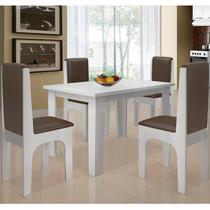 Conjunto Mesa Com 4 Cadeiras - Miami - Dobuê - Dobue