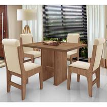 Conjunto Mesa Com 4 Cadeiras - Montreal - Dobuê - Dobue