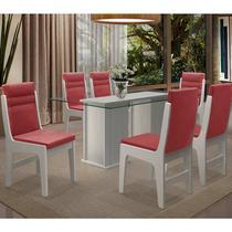 Conjunto Mesa Com 6 Cadeiras - Amsterdam - Dobuê - Dobue
