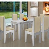 Conjunto Mesa Com 6 Cadeiras - Miami - Dobuê - Dobue