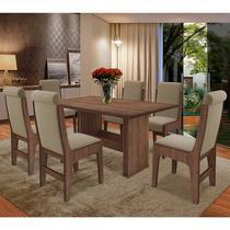 Conjunto Mesa Com 6 Cadeiras - Montreal - Dobuê - Dobue