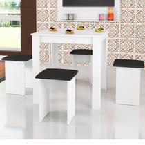 Conjunto Mesa e Banquetas Florença CJ018 - Art In Móveis -