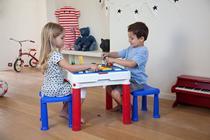 Conjunto Mesa e Cadeira criança Contru Kids Keter -