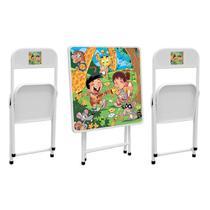 Conjunto Mesa Infantil Metalmix Sapeca 2 Cadeiras -