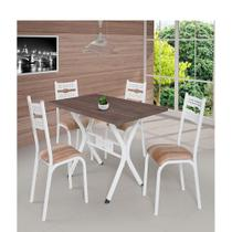 Conjunto Mesa Luna 1.20 4 Cadeiras - Ciplafe