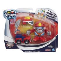 Conjunto Mini Boneco Sr. Cabeca De Batata Transformers - Heatwave -