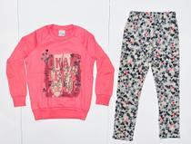 Conjunto moletom blusa e calça, marca Malwee Kids, tamanho 4. -