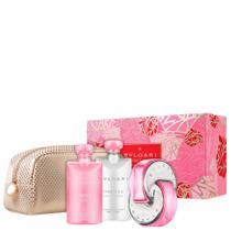 Conjunto Omnia Pink Sapphire Bvlgari Feminino 4 produtos -