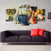 Conjunto paineis Quadro mosaico One Piece decorativo mosaico - Neyrad