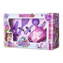 Conjunto Panela De Pressão + 3 Acessórios Infantil Zuca Toys - FMSP