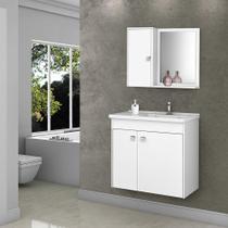 Conjunto Para Banheiro Munique Bechara Branco -