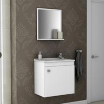 Conjunto Para Banheiro Siena Bechara Branco -