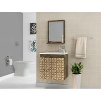 Conjunto Para Banheiro Siena Bechara Rustico M3D -