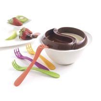 Conjunto para fondue minute para microondas mastrad -