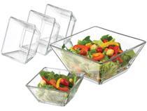 Conjunto para Salada 5 Peças Libbey - Tempo -