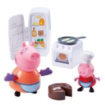 Conjunto - Peppa Pig - Hora de Comer - Cozinha -