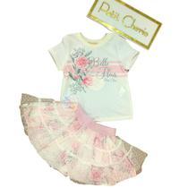 Conjunto Petit Cherie Infantil Belle Fluer Sweet Flower -