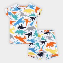 Conjunto Pijama Infantil GAP Dinossauro Masculino -