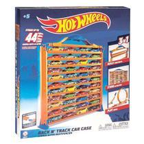 Conjunto Pista e Garagem Porta Carrinhos - Hot Wheels - Fun - Barão Toys
